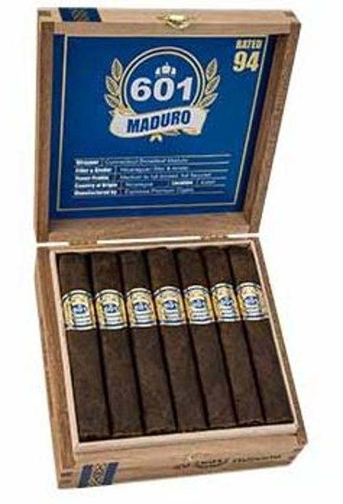 601 Blue Label Maduro Toro