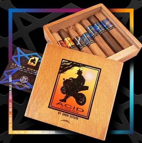 Acid Seven Wonders 7 Cigar Sampler
