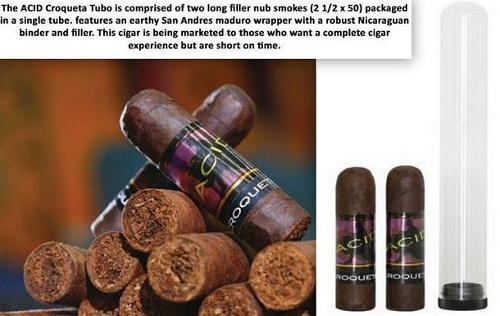 Acid Croqueta (Box of 25/2 Cigar Tubes) NEW!!!