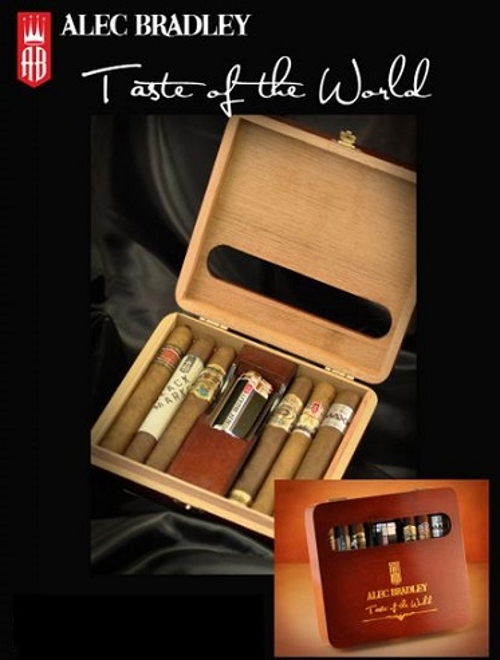 Alec Bradley Taste of the World 6 Cigar Sampler with Lighter