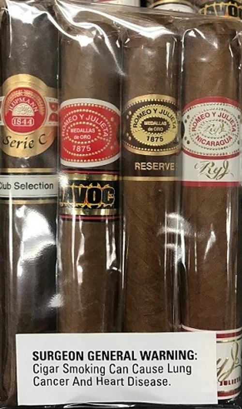 Romeo & H. Upmann 4 Cigar Sampler