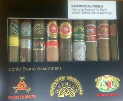 Altadis Iconic Brands 9 Cigar Sampler
