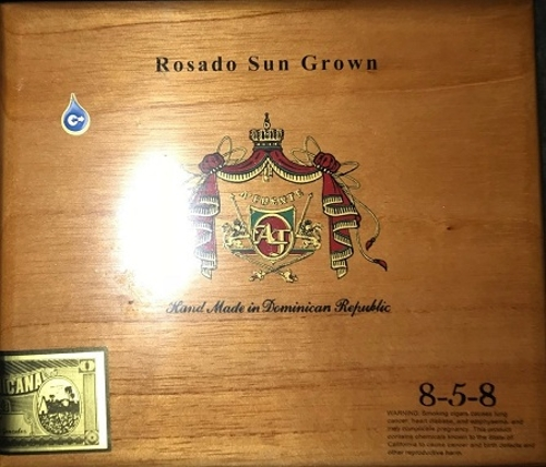 Arturo Fuente Sungrown Rosado 858 (Box 20) LIMITED