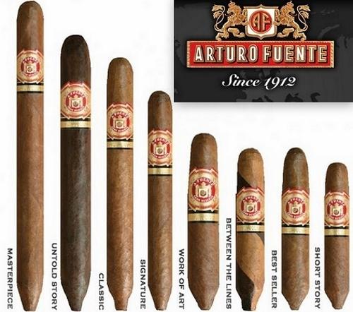 Arturo Fuente Hemingway Masterpiece Maduro