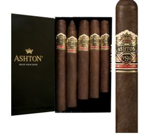 Ashton VSG 5 Cigar Sampler