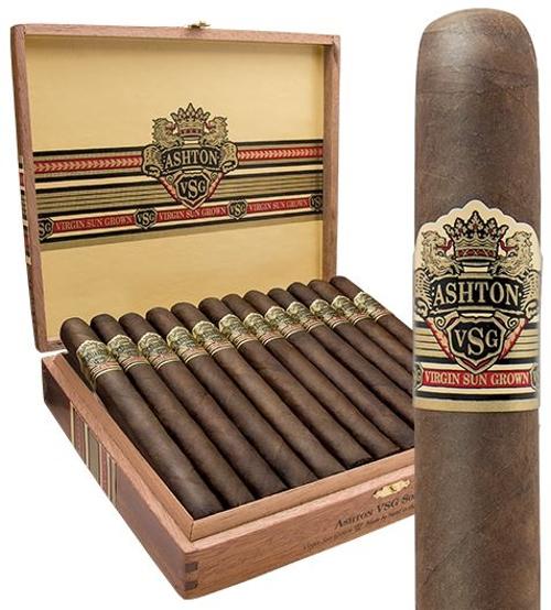 Ashton VSG Pegasus (Robusto Round) with Quad Stainless Cigar Cutter