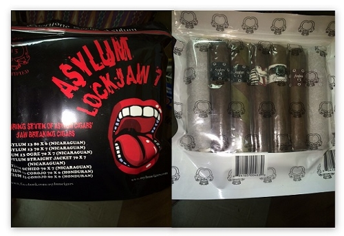 Asylum 13 Lockjaw 7 Cigar Sampler
