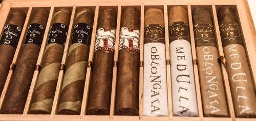 Asylum 10 Cigar Robusto Sampler