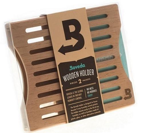 Boveda 60 Gram Humidi Pack Wood Holder for 2 Packs
