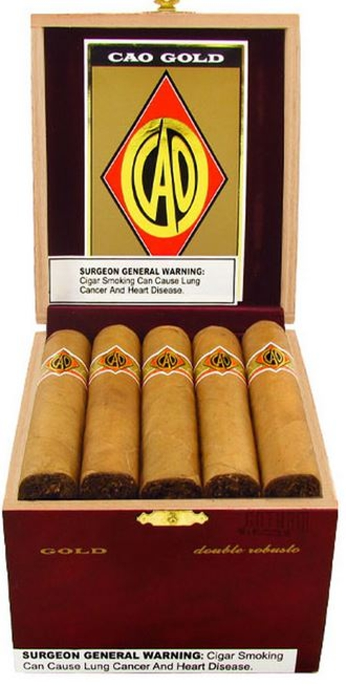 CAO Gold Double Robusto SAVE $10