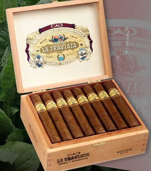 CAO La Traviata Divino (Robusto) 93 Rated!!