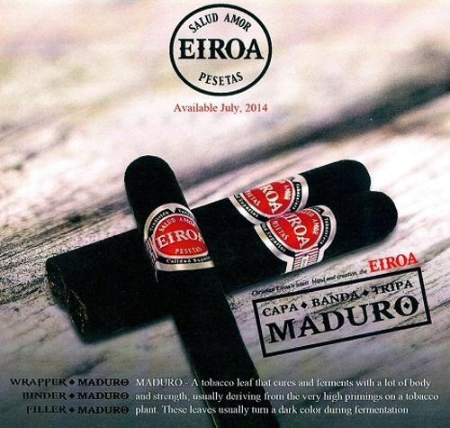 Eiroa CBT Maduro Gordo 6 by 60