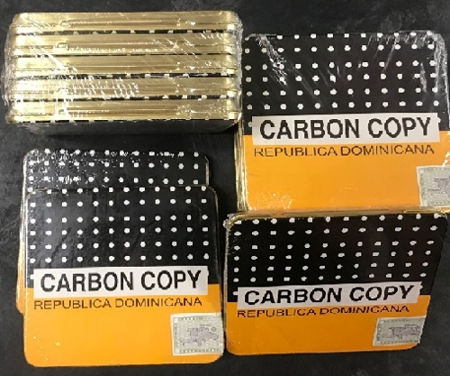 Carbon Copy Cigarillos (Brick of 5 Tins) SAVE $20