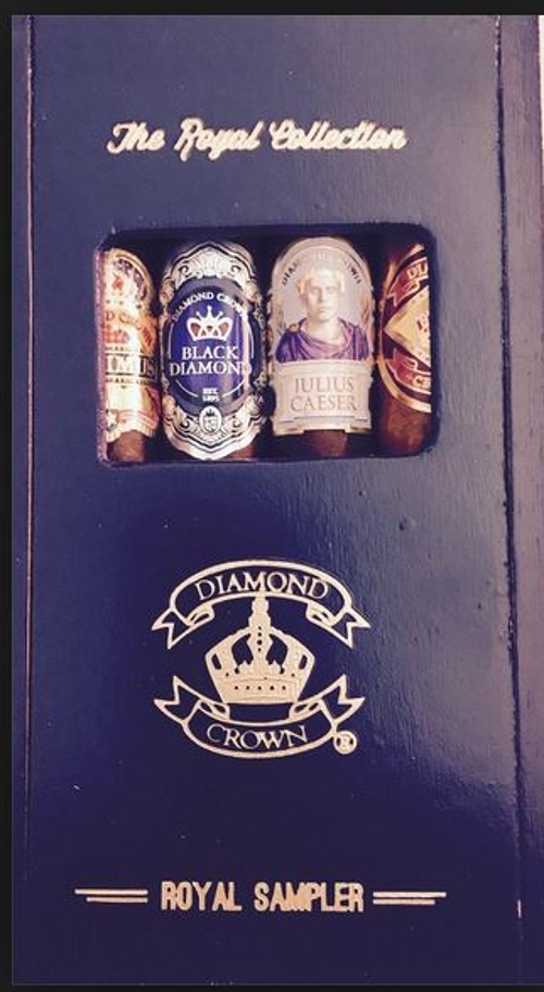 Diamond Crown Royal Sampler 4 Cigars