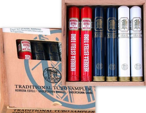 Drew Estate Traditional Tubo 6 Cigar Sampler