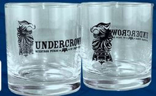 Group A Undercrown Rocks Glasses (2).........with Qualifying Purchase Only!