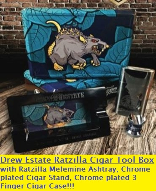Drew Estate Ratzilla Cigar Tool Box