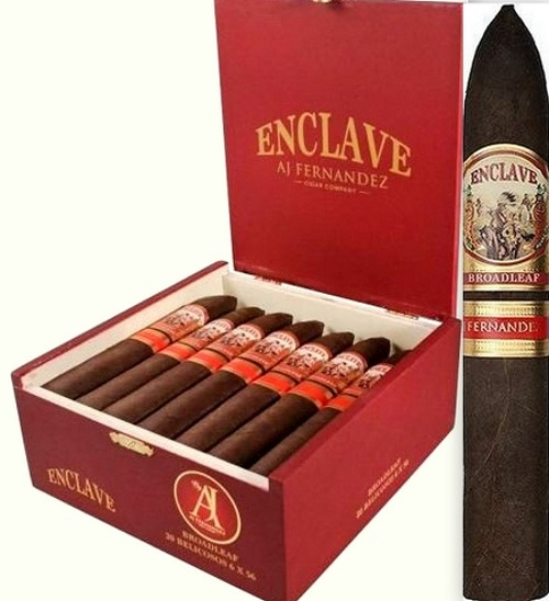 Enclave Broadleaf Belicoso with 3 Flame Cyclone Torch and Double Cutter!