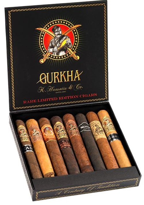 Gurkha Godzilla 8 Cigar Gordo Sampler (3 Samplers Total of 24 Cigars)