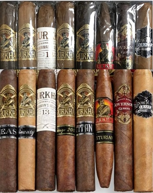 Gurkha XO 8 Cigar Big Ring Sampler