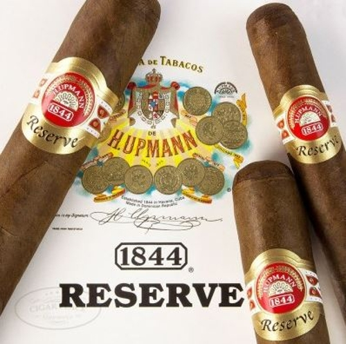 H. Upmann 1844 Reserve Churchill with a 7 Pack of H. Upman Cigars