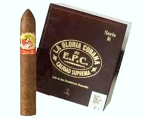La Gloria Cubana Serie N Rojo (Double Corona) with 3 Flame Cycline Torch and Double Cutter!