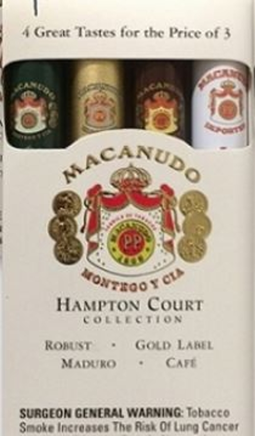 Macanudo 4 Tastes of Hampton Court Sampler