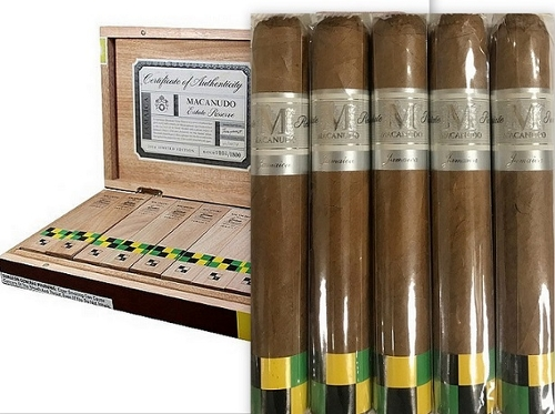 Macanudo Estate Reserve Jamaica 2014 No. 4 Robusto (5 Pack Sampler)
