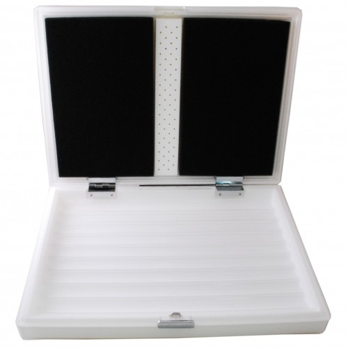 Montecristo White Classic Travel Humidor holds 20 Cigars