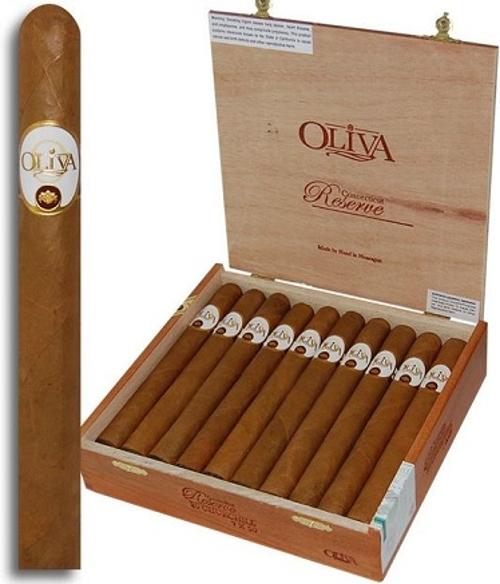 Oliva Connecticut Reserve Churchill with 12 Cigar Oliva Sampler SAVE $20