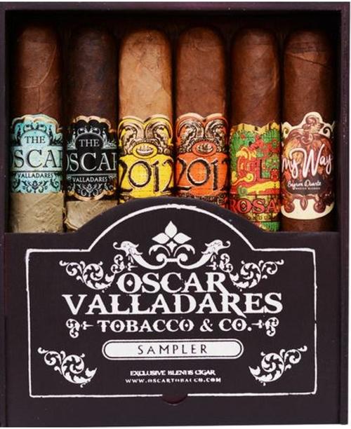 Oscar Valladares 6 Cigar Variety Sampler