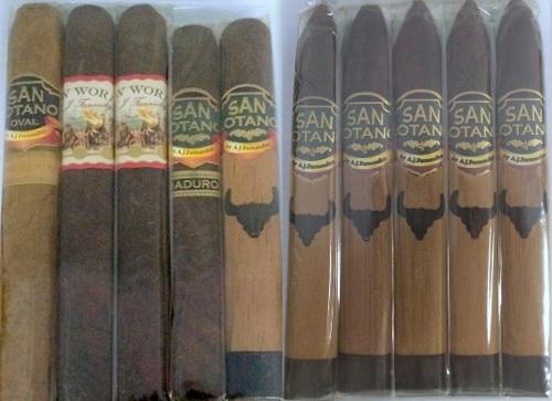 A.J. Fernandez 5 Cigar Sampler & San Lotano The Bull Torpedo 5 pack SAVE $10