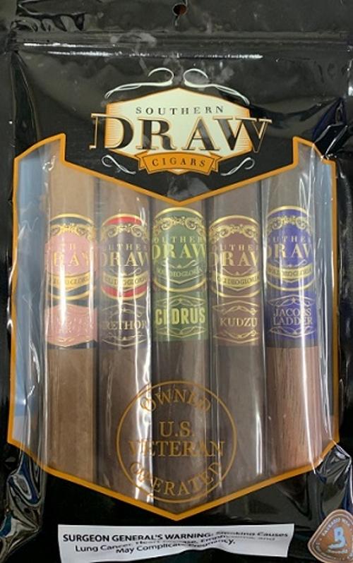 Southern Draw 5 Cigar Toro Sampler