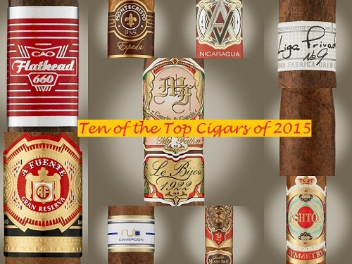10 Top Cigars of 2015 Sampler