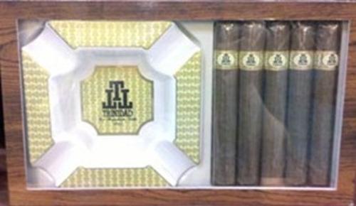 Trinadad Habana Reserve Toro 5 Cigars with Ashtray SAVE $10