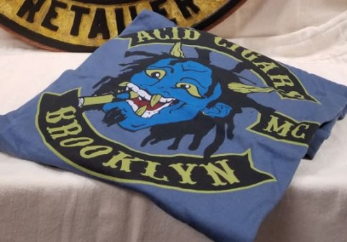 Group B Acid Brooklyn MC T-shirt Size XL..........with Qualifying Purchase Only!