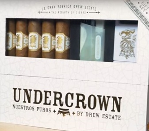 Undercrown Shade Gran Toro 5 Cigar Gift Set with Lighter and Cutter