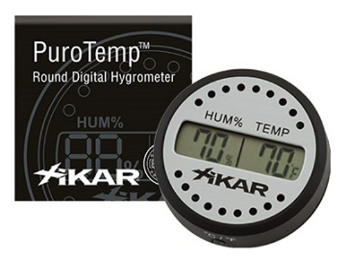 Xikar Round Hygrometer