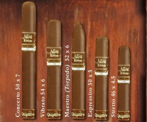 Aging Room Quattro F55 Concerto S Sumatra (6 by 50)
