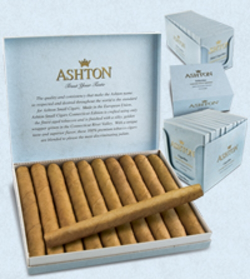 Ashton Half Corona Connecticut (10 Pack of 5)