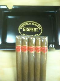 Gispert Toro 5 Pack Sampler with Ashtray