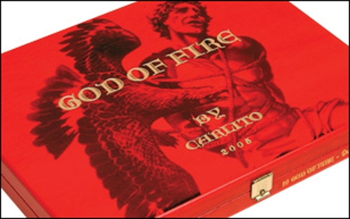 God of Fire by Carlito Double Robusto