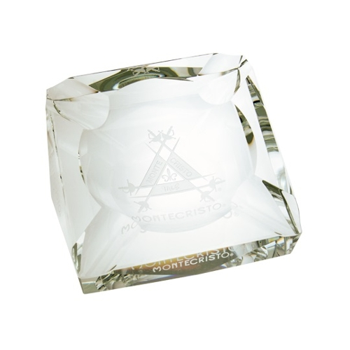 Montecristo Crystal Ashtray