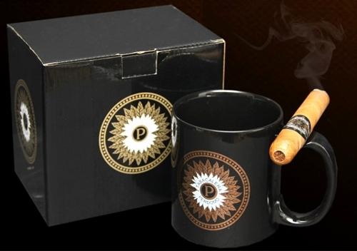 Perdomo Coffee Mug & Cigar Holder